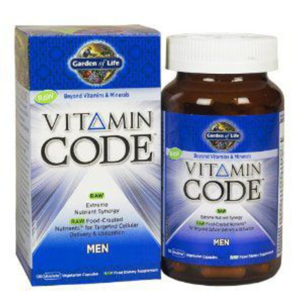 Garden of Life Vitamin Code Men's Raw Whole Food Mutlivitamin