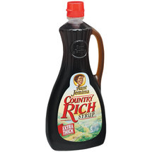 Aunt Jemima Syrup Country Rich