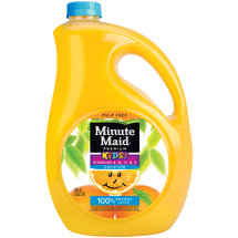 Minute Maid Premium Kids Pulp Free 100% Orange Juice 128 Fl Oz