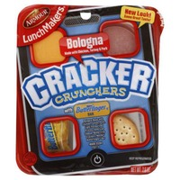 Armour Cracker Crunchers Bologna with Nestle Butterfinger Bar LunchMakers