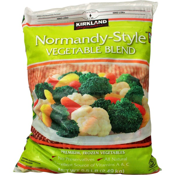 Kirkland Signature Normandy Style Vegetable Blend
