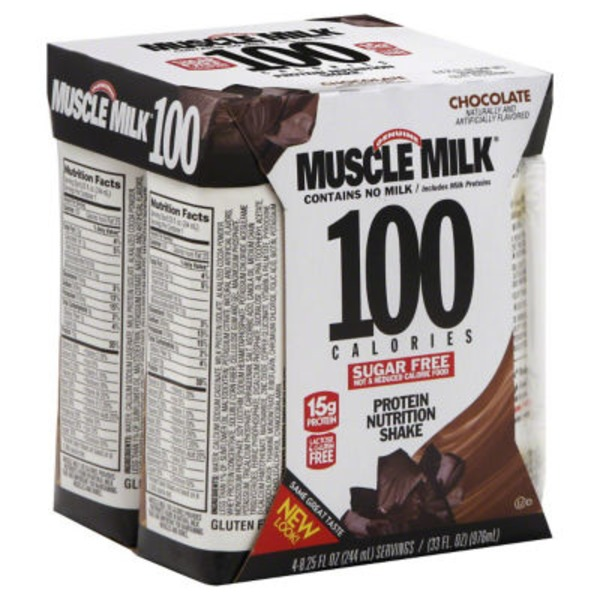 Muscle Milk Genuine Chocolate Non-Dairy Protein Shakes