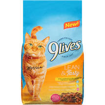 9Lives Lean & Tasty Dry Cat Food