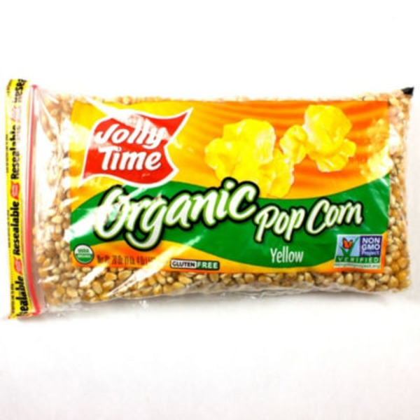 Jolly Time 100% Organic Yellow Pop Corn