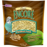 Browns Classic Encore Parakeet Food