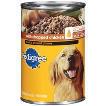 Pedigree Meaty Ground Dinner w/Chopped Chicken Dog Food