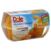 Dole Fruit Bowls Mandarin Oranges in 100% Fruit Juice
