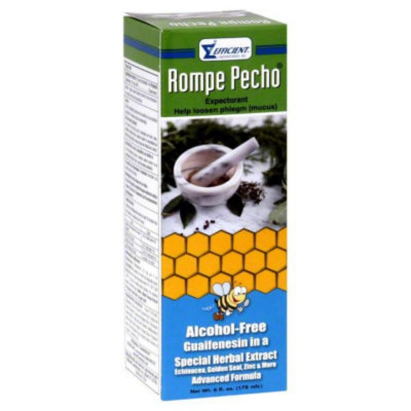 Rompe Pecho Special Herbal Extract Cough Syrup