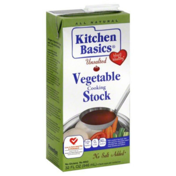 Kitchen Basics Unsalted Vegetable Cooking Stock