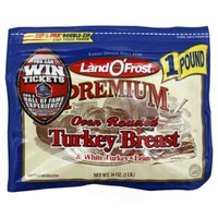 Land O' Frost Premium Oven Roasted Turkey Breast & White Turkey