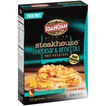 Idahoan Steakhouse Cheddar & Broccoli Red Potatoes