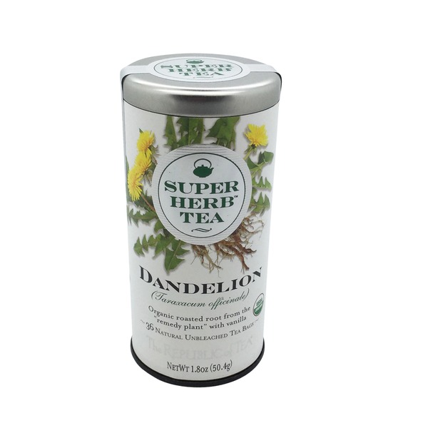 Super Herb Tea Dandelion Tea Bags
