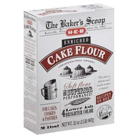 H-E-B Enriched Cake Flour For Cakes, Cookies And Pastries