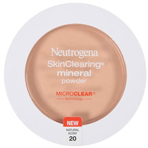 Neutrogena Skinclearing Mineral Powder Natural Ivory 20