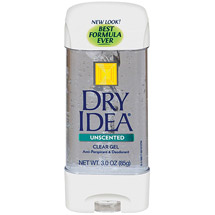 Dry Idea Clear Gel Unscented Anti-Perspirant & Deodorant