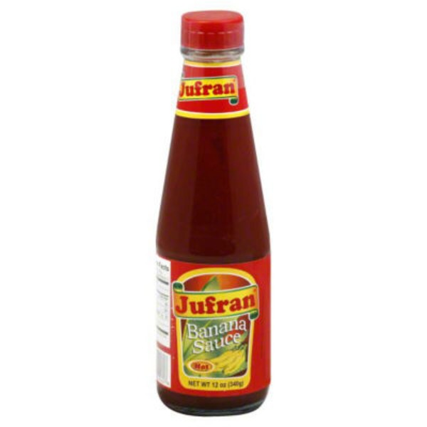 Jufran Banana Sauce, Hot