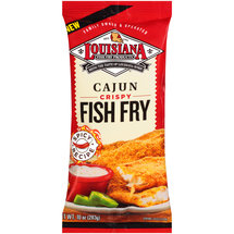 Louisiana Cajun Crispy Fish Fry