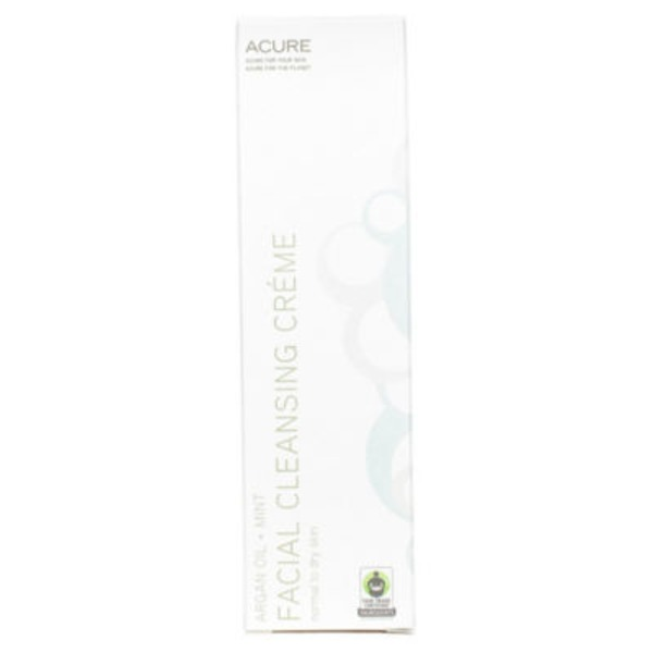 Acure Facial Cleansing Creme with Argan Oil + Mint