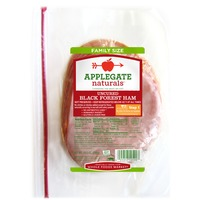 Applegate Natural Uncured Black Forest Ham, Family Size