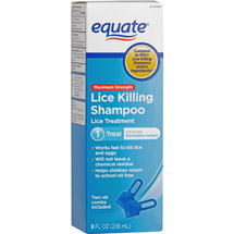 Equate Lice Shampoo 8 Fl Oz