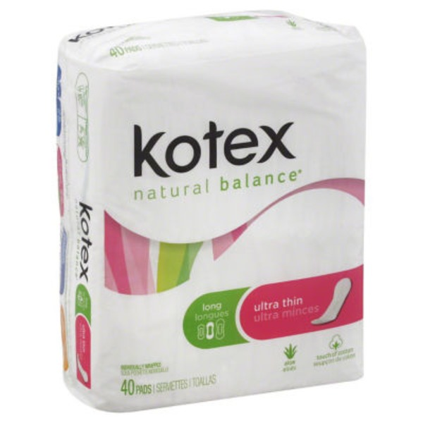 U by Kotex Security Ultra Thin Long Pads