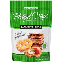 Pretzel Crisps Garlic Pretzel Crackers