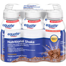 Equate Chocolate Nutritional Shake