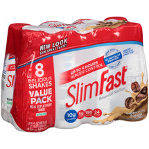 SlimFast Cappuccino Delight Meal Replacement Shakes