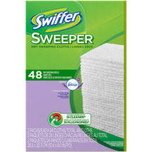 Swiffer Lavender Vanilla Dry Sweeping Cloths