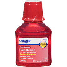 Equate Extra Strength Pain Relief Liquid Acetaminophen