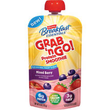 Carnation Breakfast Essentials Grab 'n Go! Mixed Berry Protein Smoothie