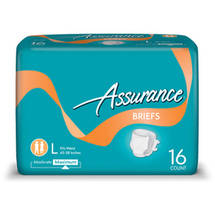 Assurance Protective Briefs Maximum Absorbency Large