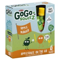 Materne GoGo Squeez Apple Mango Applesauce On The Go