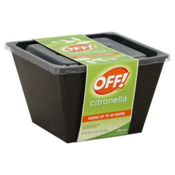 Off! Citronella Bucket Insect Repellent