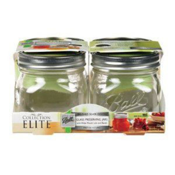 Ball Pint Jars Collection Elite Design Series Wide Mouth