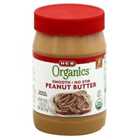 H-E-B Organics Smooth No Stir Peanut Butter