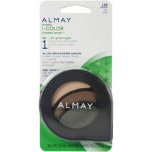 Almay Intense I-Color Evening Smoky All Day Wear Powder Eye Shadow For Green Eyes