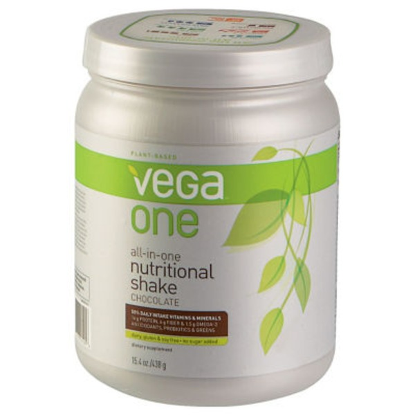 Vega One Chocolate Nutritional Shake Drink Mix