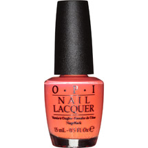 OPI Nail Lacquer NL H43 Hot & Spicy