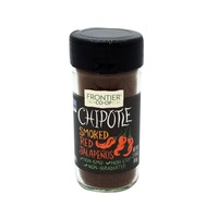 Frontier Ground Chipotle Smoked Red Jalapenos