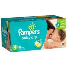 Pampers Baby Dry Diapers Super Pack Size 4