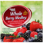 Great Value Whole Berry Medley