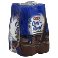 H-E-B Opti Meal Protein Shake Double Chocolate