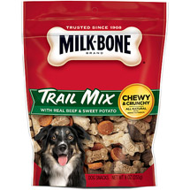 Milk-Bone Trail Mix With Real Beef & Sweet Potato Dog Snacks