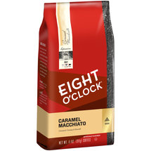 Eight O'Clock Coffee Caramel Macchiato Ground Coffee