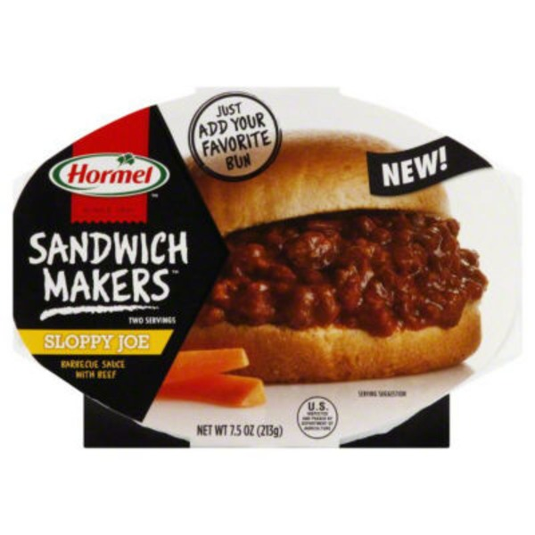 Hormel Sloppy Joe Sandwich Makers