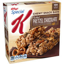 Kellogg's Special K Salted Pretzel Chocolate Chewy Snack Bars