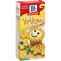 McCormick Yellow Food Coloring