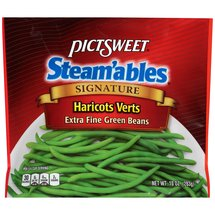 Pictsweet Steam'ables Signature Haricots Verts Extra Fine Green Beans