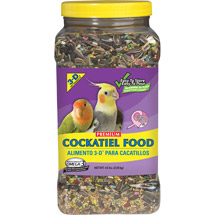 3-D Pet Products Premium Cockatiel Food